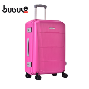 BUBULE 22'' Popular PP Luggage Wheeled Bag Customize Travelling Suitcase