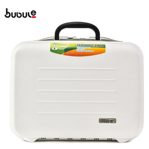 BUBULE 20'' Wholesale PP Hardcase Briefcase with Lock Men Business Case Laptop Bag
