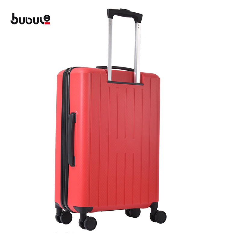 BUBULE 3Pcs Spinner Luggage Sets Zipper Travel Trolley Suitcases