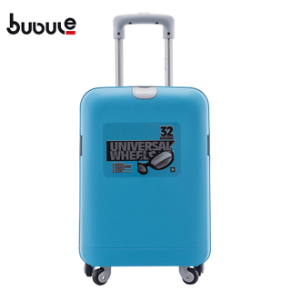 BUBULE 18'' 22'' Wholesale PP Trolley Suitcase Wheeled Waterproof Travel Lock Luggage