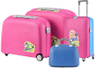 BUBULE Hot Sale PP 4pcs Trolley Luggage Set Spinner Wheeled Suitcases