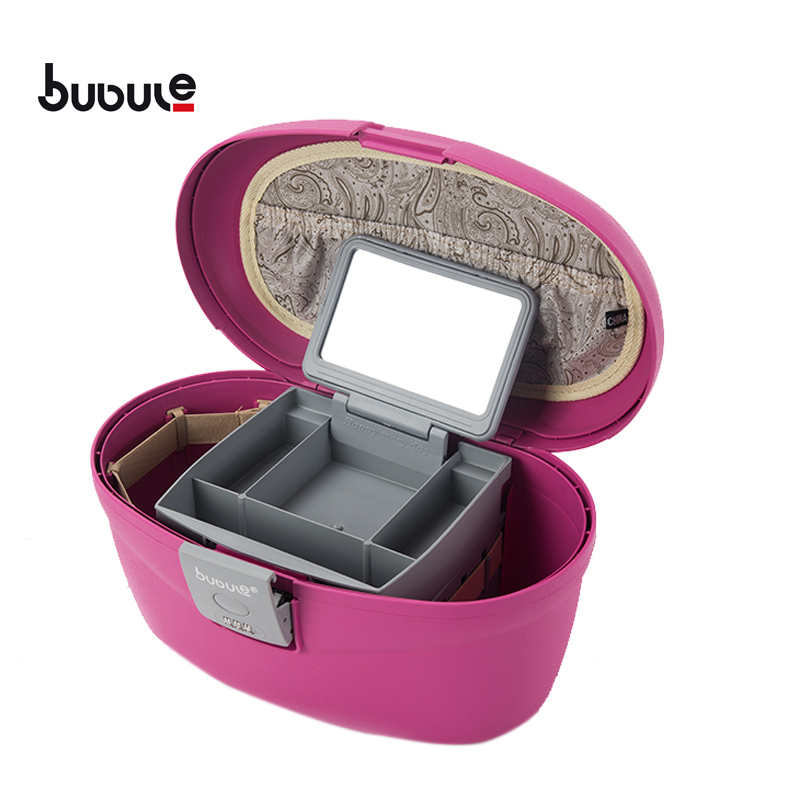 "BUBULE 14"" Waterproof PP Cosmetic Box Bag Travel Makeup Case"