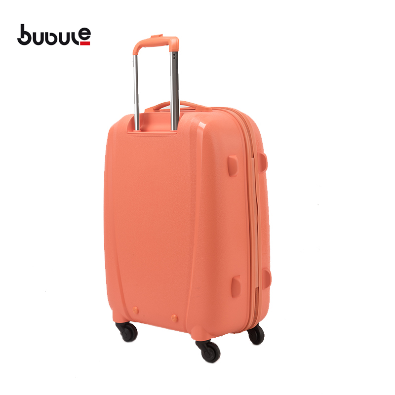 BUBULE 3PCS OEM Designer Spinner Zipper Luggage Sets Fashionable Rolling Trolley Suitcase