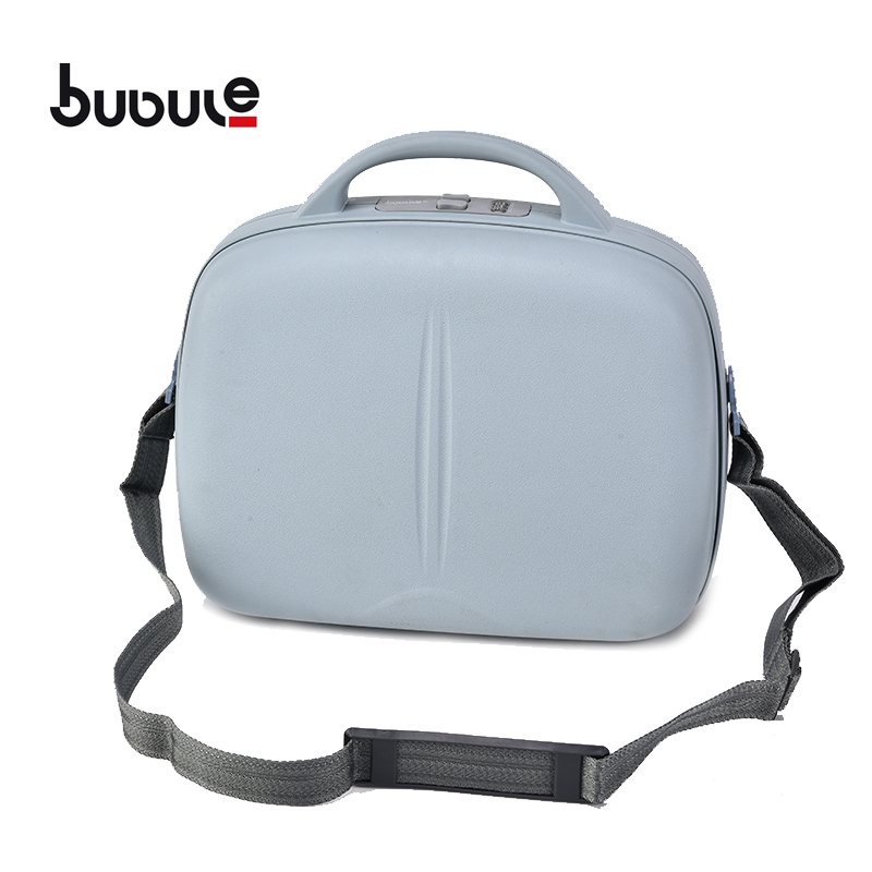 "BUBULE Fashionable 14"" PP Cosmetic Box Makeup Case Bag for Travel"