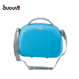 "BUBULE Fashionable 14"" PP Cosmetic Box Bag Women Makeup Case"
