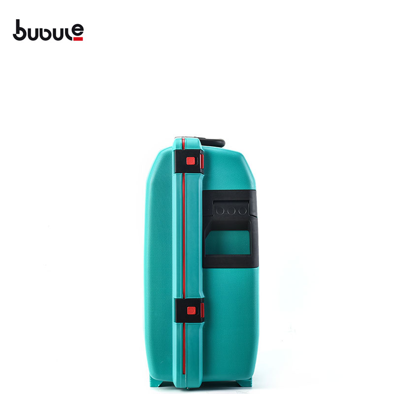 BUBULE PP Travel Luggage with Large Space Wheeled Carry on Suitcase